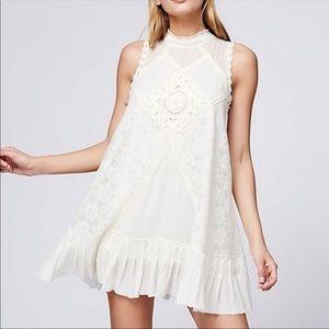 FREE PEOPLE Angel Lace Sleeveless Dress Medium